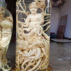 Nàng tiên cá điêu khắc